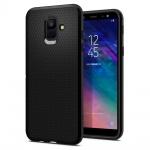Spigen Liquid Air for Samsung Galaxy A6 (2018) Black (EU Blister), 2440754
