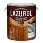 Lazurol Classic S1023 tenkovrstvá lazura na dřevo s obsahem olejů, 051 zelená jedle, 2,5 l