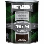 Hostagrund Zinex 2v1 S2820 barva na pozink, Ral 8017 čokoládová hnědá, 600 ml