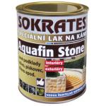 Sokrates Aquafin Stone polomat lak pro sávé podklady, 700 g