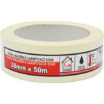 Mako Star lepicí páska zakrývací, 7 dní, do 80 °C, rozměr 38 mm × 50 m