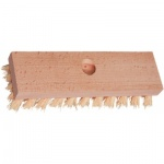Spokar 4224 podlahový kartáč na hůl, dřevěný