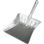 Spokar kovová lopatka široká, pozinkovaný plech, 235 mm