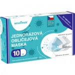 Mesaverde 3vrstvá ochranná obličejová rouška, výroba CZ, 10 ks