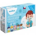 Mesaverde Kids Boys 3vrstvá ochranná rouška, výroba CZ, 10 ks