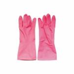 Spontex Economic latexové úklidové rukavice, opakovaně použitelné, velikost L