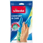 Vileda Comfort & Care gumové rukavice, úklidové, velikost č. 9