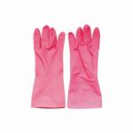 Spontex Economic latexové úklidové rukavice, opakovaně použitelné, velikost M