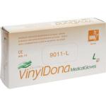 Vulkan VinylDona vinylové jednorázové bezprašné rukavice velikost L, 100 ks