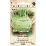 Nohel Garden kedluben pozdní bílý Gigant, 200 semen