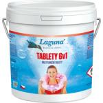 Laguna 6 v 1 multifunkční tablety pro celosezónní údržbu vody v bazénu, 3,2 kg