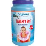 Laguna 6 v 1 Mini multifunkční tablety pro celosezónní údržbu vody v bazénu, 1 kg