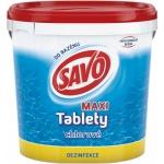 Savo Maxi chlorové tablety pro celosezonní údržbu bazénu, 4,6 kg