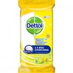 Dettol Citron a Limeta dezinfekční ubrousky na povrchy, 32 ks