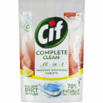 Cif Complete Clean All in 1 Lemon tablety do myčky, 46 ks