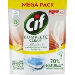 Cif Complete Clean All in 1 Lemon tablety do myčky, 70 ks