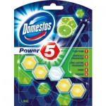 Domestos Power 5 Lime WC tuhý blok, 55 g
