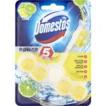 Domestos Power 5 Lime WC tuhý blok, 55 g