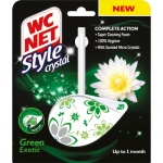 WC NET Style Crystal Green Exotic WC závěs, 36,5 g