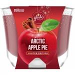 Glade Maxi Limited Edition Artic Apple Pie vonná svíčka, 224 g