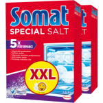 Somat sůl do myčky 2 × 1,5 kg