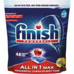 Finish All in 1 Max Lemon tablety do myčky, 48 ks