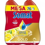 Somat Gold Grease Cutting Lemon & Lime gel na nádobí 2 × 684 ml