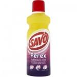 Savo Perex květinová vůně, parfémovaný přípravek předpírání a bělení prádla, 1 l