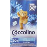 Coccolino Intense Fresh Sky ubrousky do sušičky 20 ks