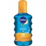 Nivea Sun Protect & refresh OF 20 neviditelný sprej na opalování, 200 ml