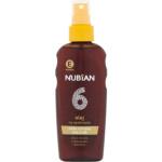Nubian OF6 Sprej olej na opalování, 150 ml