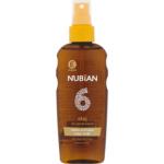 Nubian OF6 Sprej olej na opalování s betakarotenem, 150 ml