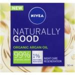 Nivea Naturally Good regenerační noční krém, 50 ml