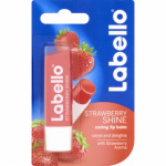 Labello Strawberry Shine jahodový balzám na rty, 4,8 g