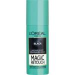 L'Oréal Magic Retouch Black zakrytí odrostů, 75 ml