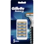 Gillette Sensor Excel, náhradní hlavice, balení 5 kusy