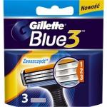 Gillette Blue3 náhradní hlavice, 3 ks