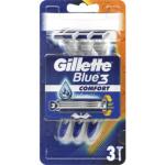 Gillette Blue3 jednorázové holicí strojky, balení 3 ks