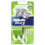 Gillette Blue3 Sense Care jednorázové holicí strojky, balení 3 ks
