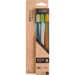 SOFTdent Eco zubní kartáček, extra měkký, 3 ks