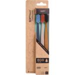 SOFTdent Eco zubní kartáček, měkký, 3 ks