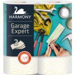 Harmony Garage Expert třívrstvé univerzální papírové utěrky, 2× 16,5 m, 2 role