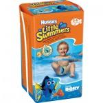 Huggies Little Swimmers 3/4 plenkové plavky do vody 12 až 18 kg, 11 ks