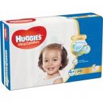 Huggies Ultra Comfort Jumbo 4+ dětské pleny 10 až 16 kg, 46 ks
