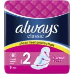 Always Classic Maxi dámské vložky, 9 ks