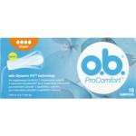 O.B. ProComfort Super tampony, 16 ks