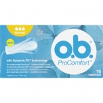 O.B. ProComfort Normal tampony, 16 ks
