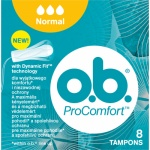 O.B. ProComfort Normal tampony, 8 ks