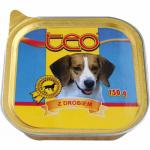 Teo paštika pro dospělé psy s drůbežím masem, 150 g