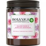 Air Wick Botanica Exotická růže & africká pelargónie vonná svíčka, 205 g